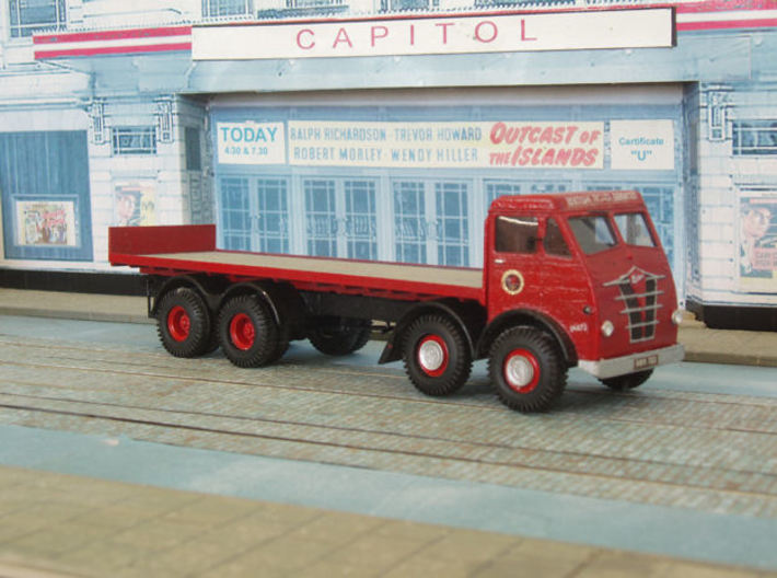 1:43 Foden 1948 FG Cab & 8 Wheel Chassis 3d printed