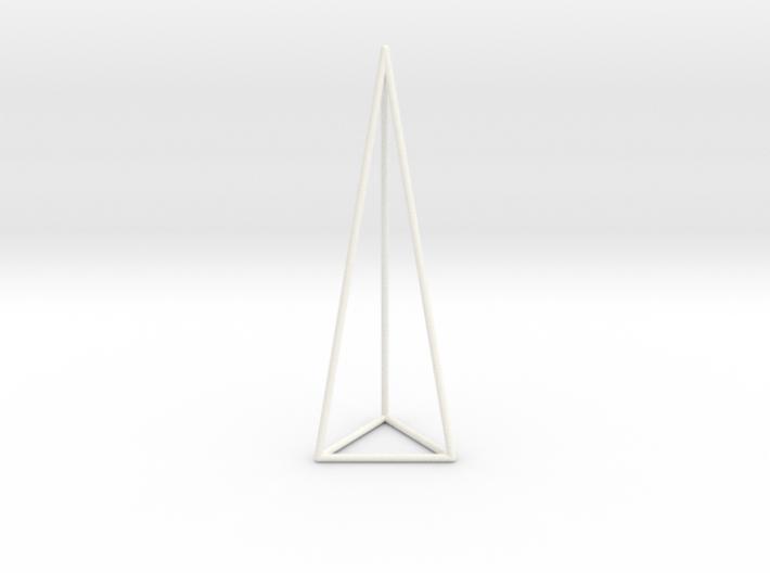 Pyramis Laterata Triangula Vacua 3d printed