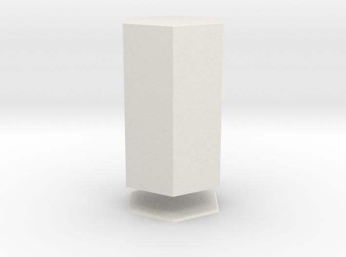 Columna Laterata Exagona Solida 3d printed