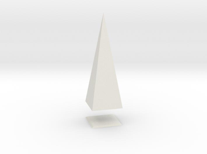 Pyramis Laterata Quadrangula Solida 3d printed