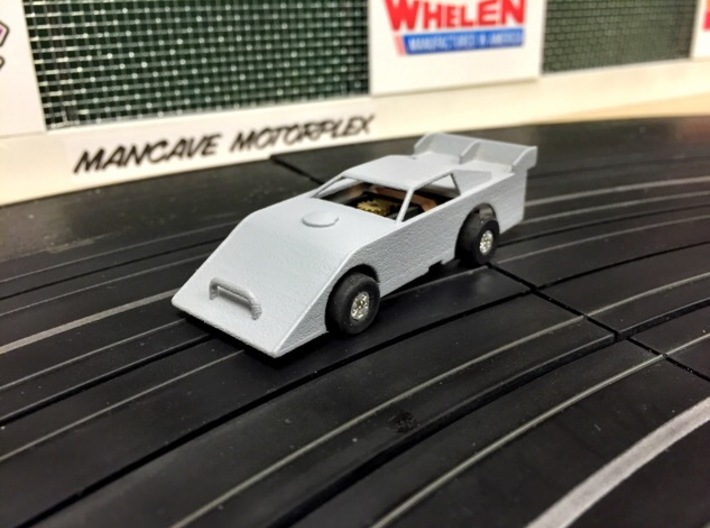 HO-Scale Dirt Late Model Body 3d printed