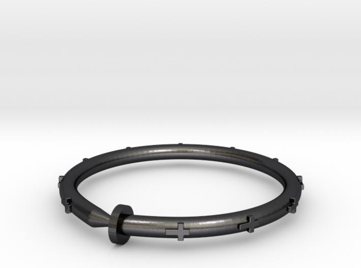Cross Nail Bracelet 3d printed
