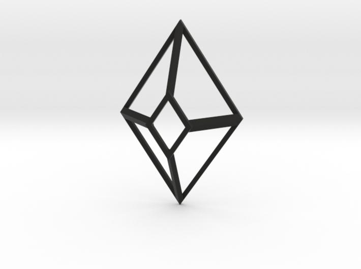 Cut-Off Diamond 3d printed