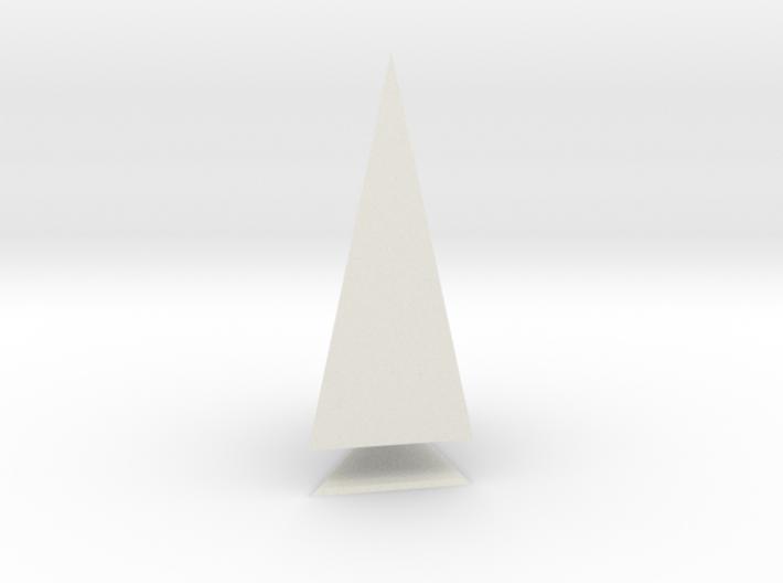 Pyramis Laterata Triangula Inequilatera Solida 3d printed