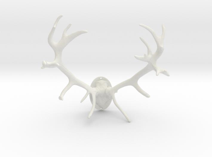Red Deer Antler Mount 40mm 3d printed