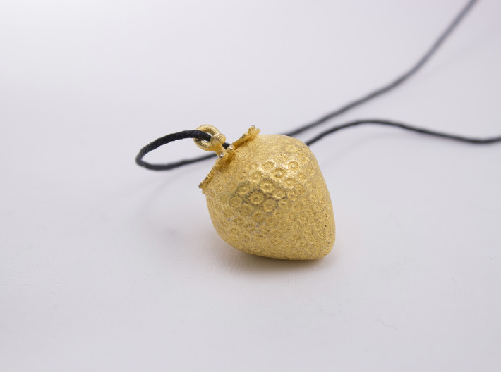 Strawberry Pendent 3d printed