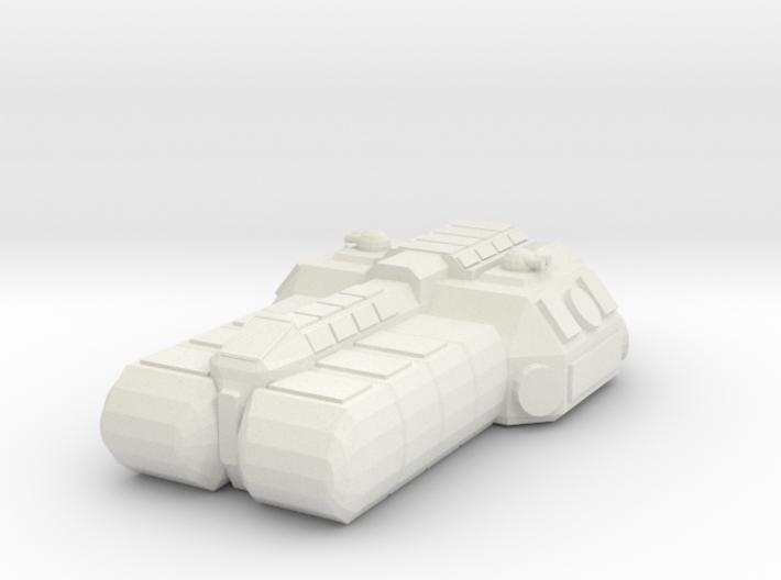 1/1000 Scale SoroSuub Nestt Light Freighter v2 3d printed