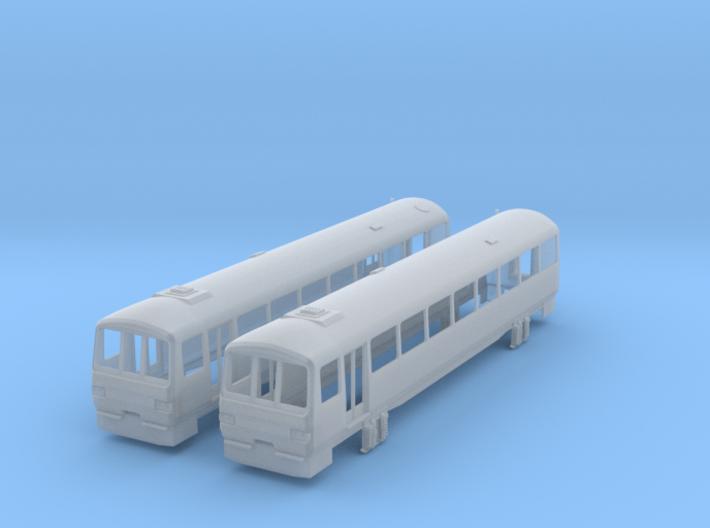 N Scale Class 143 3d printed