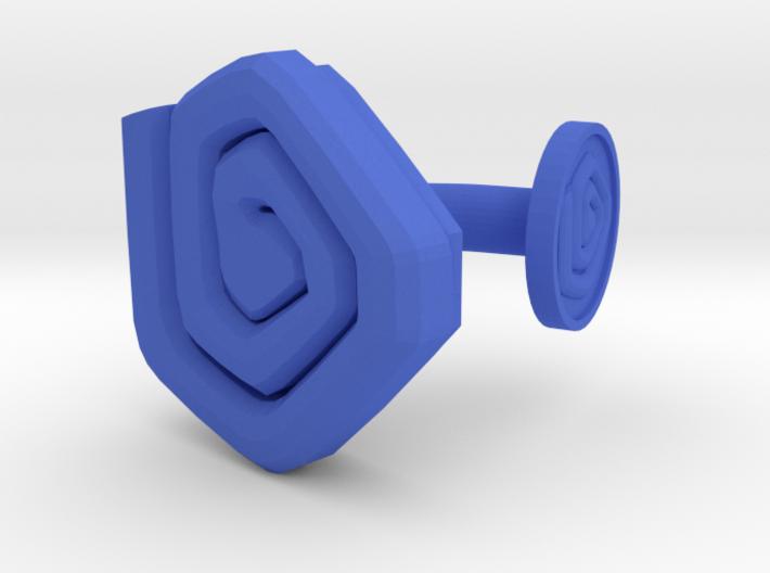 3D Printed Beholden Eyes Cufflinks by bondswell3D 3d printed