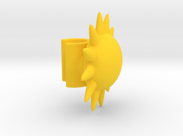 EarPod Earrings | Sun 3d printed