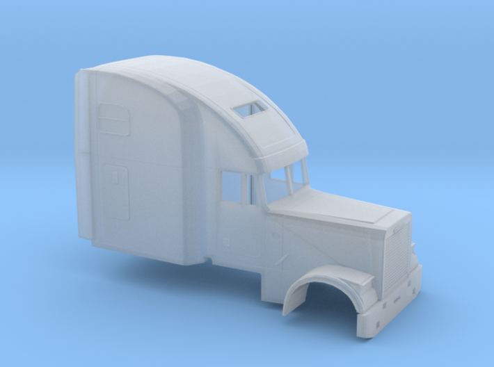 1/160 Freightliner-Classic XL High Sleeper 3d printed