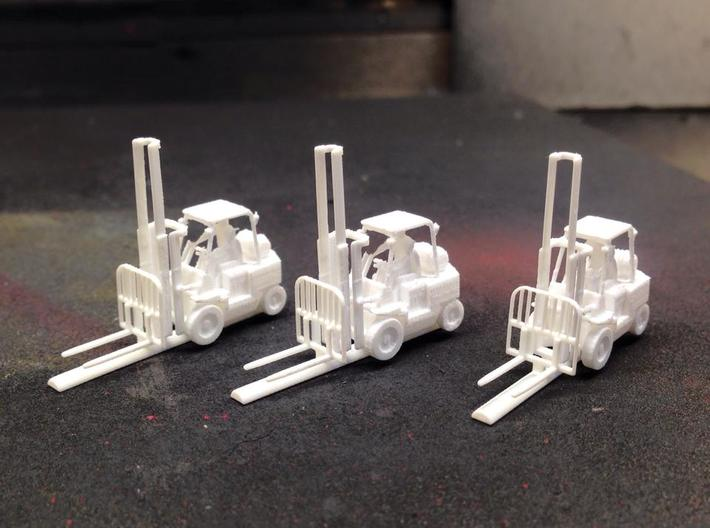 N Scale 1:160 Forklift With Operator 3d printed Sold Individually