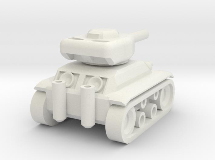 Panzer 74' 3d printed