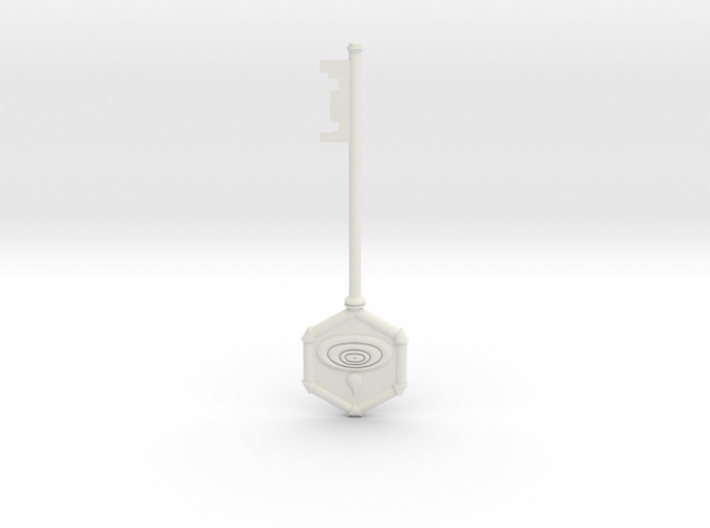 Resident Evil 0: Water key 3d printed