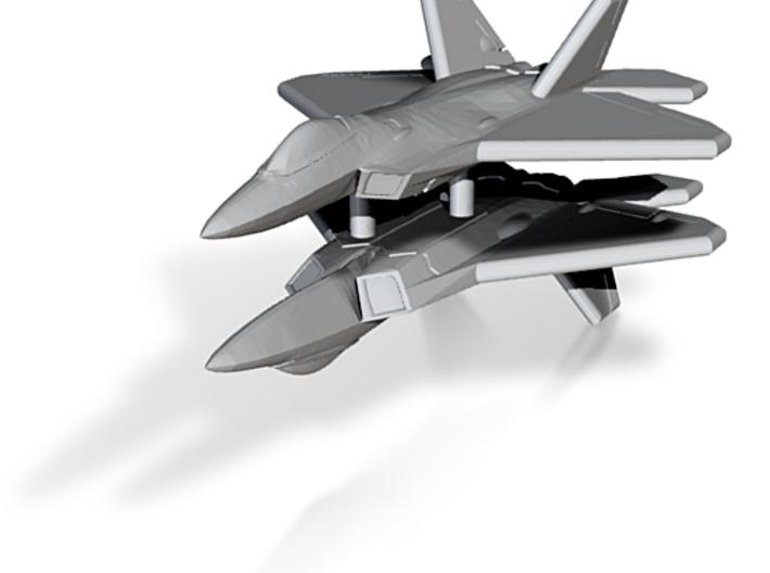 1/600 F-22A Raptor (WSF, x2) 3d printed