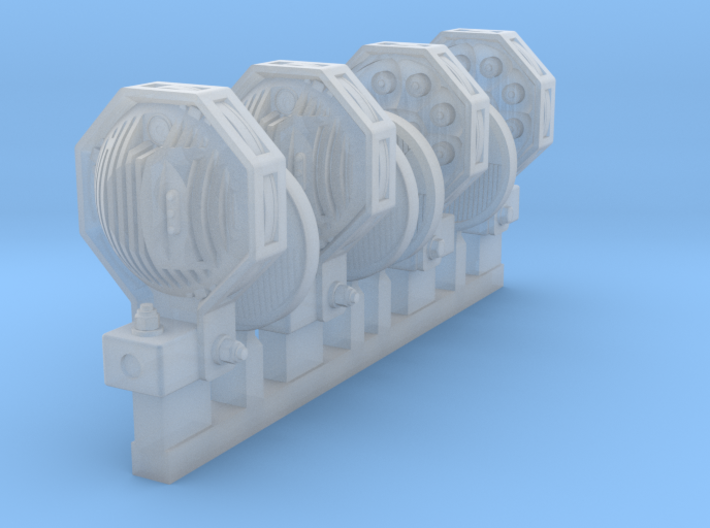 1/24 SPM-24-002 Truck LED Headlights 3d printed
