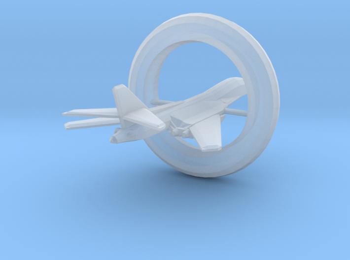 [Galaxia] Excalibur (Wings Swept, w/Alcubierre Dri 3d printed