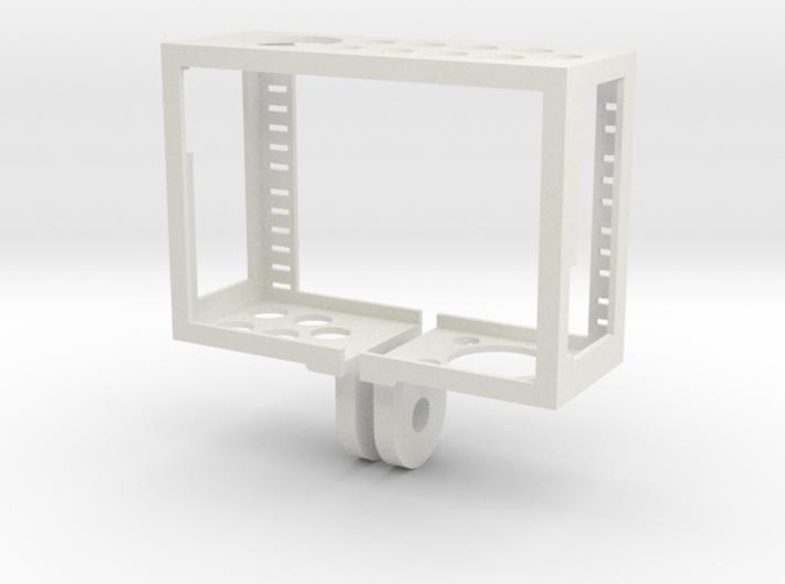 GoPro Hero3 & Hero4 - Frame'ish - d3wey 3d printed