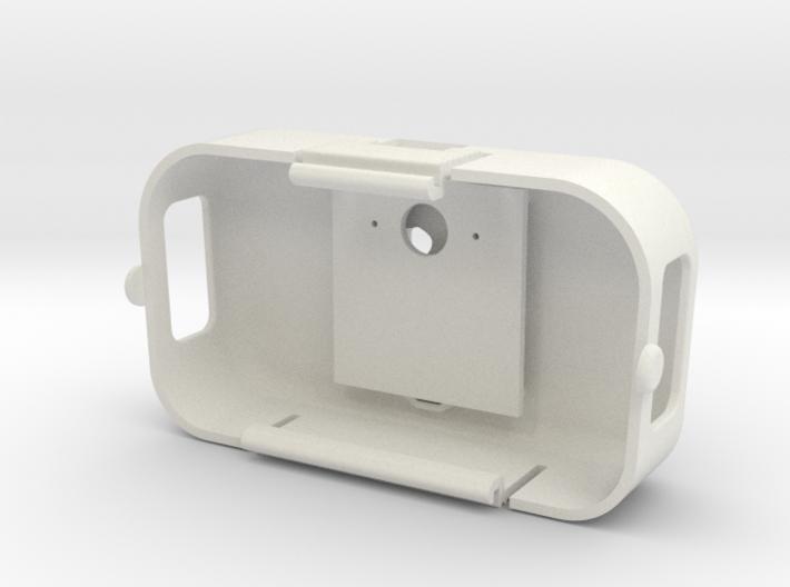DJI Phantom 2 Battery Door - Skull & Cross Bones 3d printed