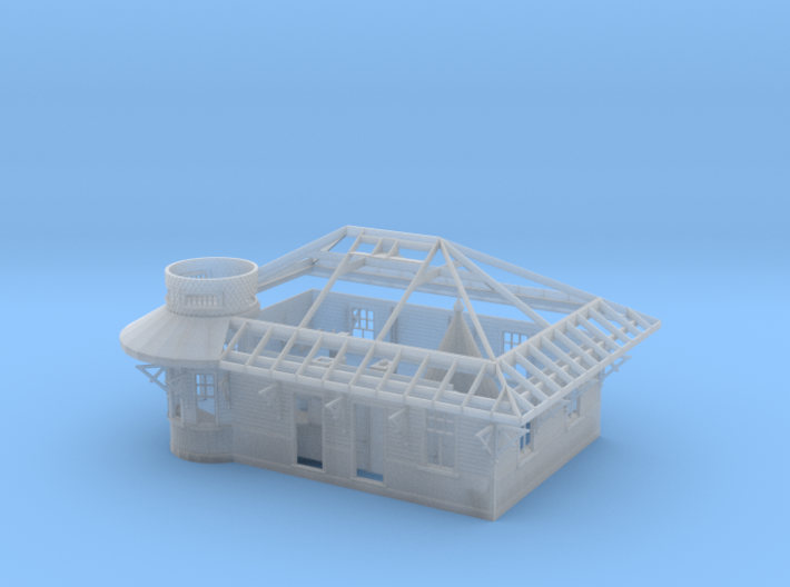 CNR & CPR Don Station (HO Scale) 3d printed