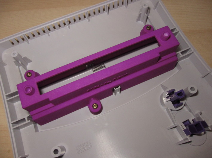UniSN2 Tray For SNES 2 3d printed