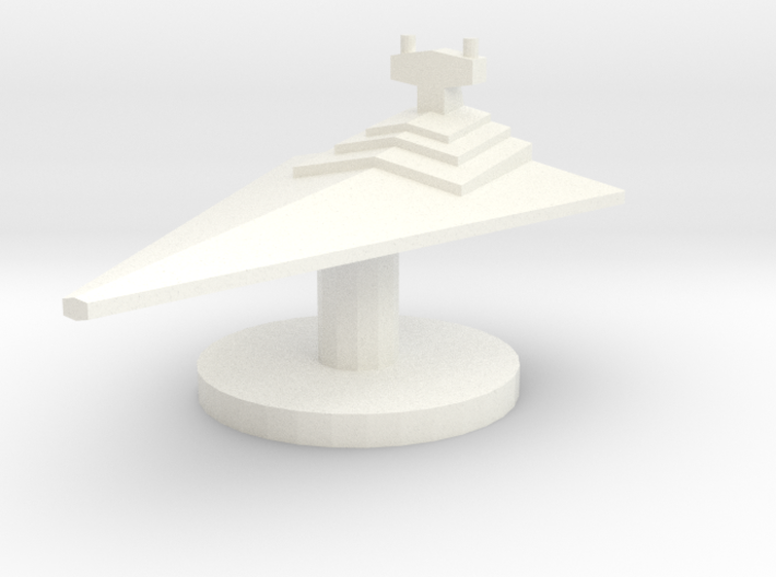 Star Destroyer Token 3d printed