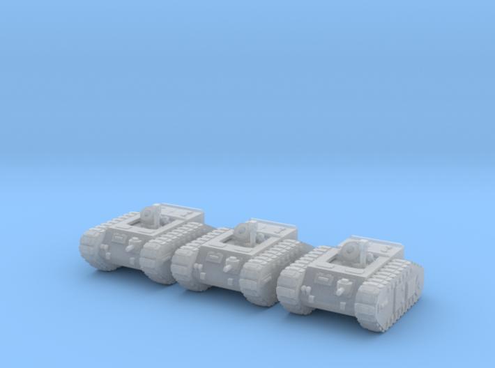 6mm Dieselpunk Mk.B self-propelled Mortar 3d printed