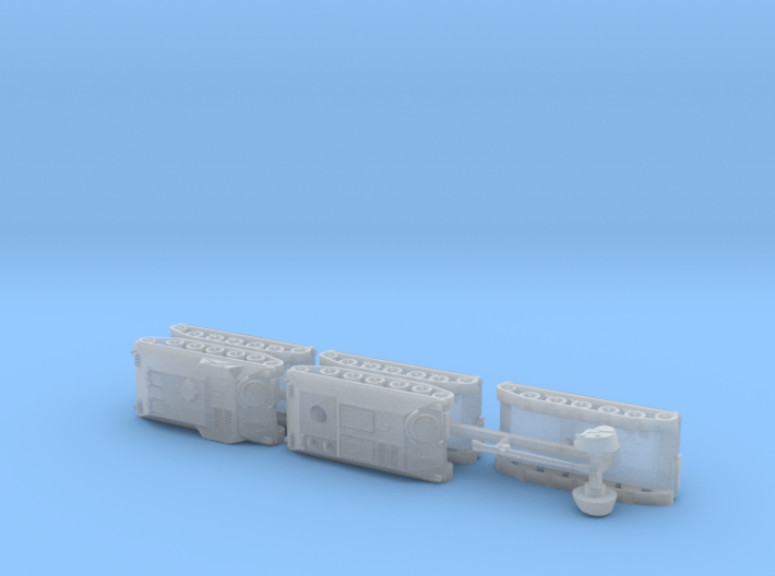 APC SPz lang HS-30 Variants 1/285 6mm 3d printed