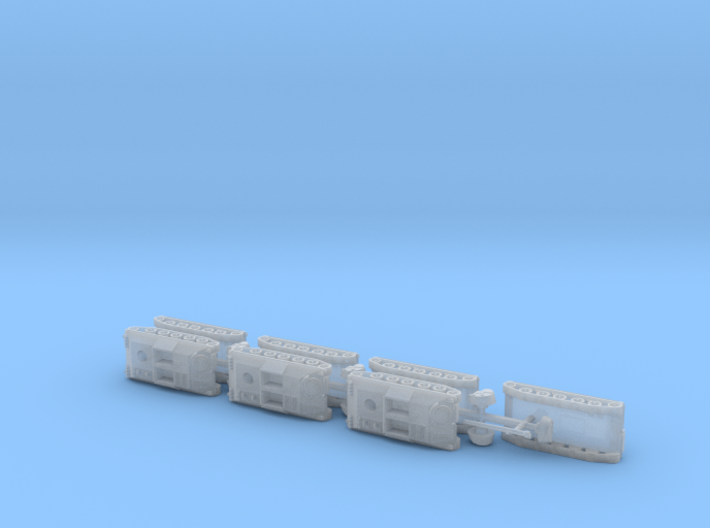 Schützenpanzer HS-30 APC 1/285 6mm 3d printed