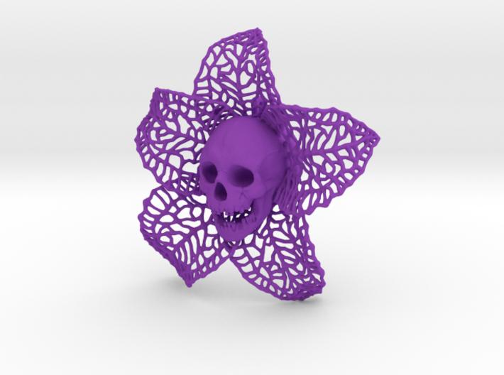 Skeletal Flower 3d printed