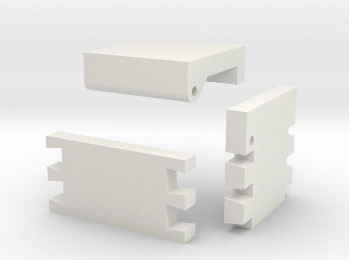 Template For Dovetail Jewelry Box 3d printed