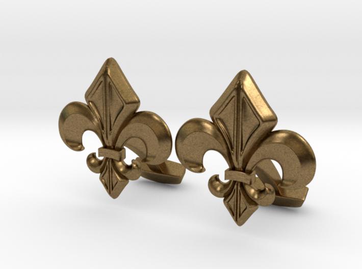 Gothic Cufflinks 3d printed