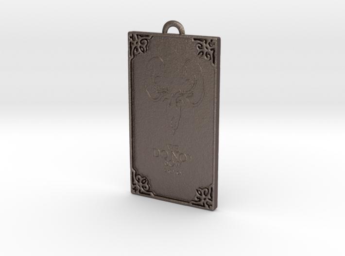 Game of Thrones - Greyjoy Pendant 3d printed