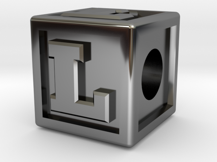 """Name Pieces; Letter """"L"""" 3d printed"""