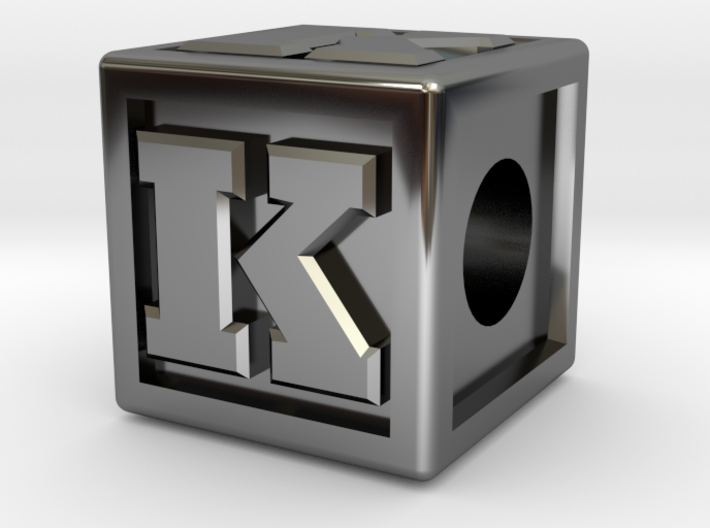 """Name Pieces; Letter """"K"""" 3d printed"""