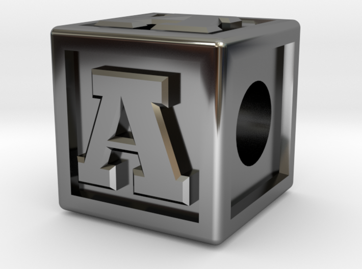 """Name Pieces; Letter """"A"""" 3d printed"""