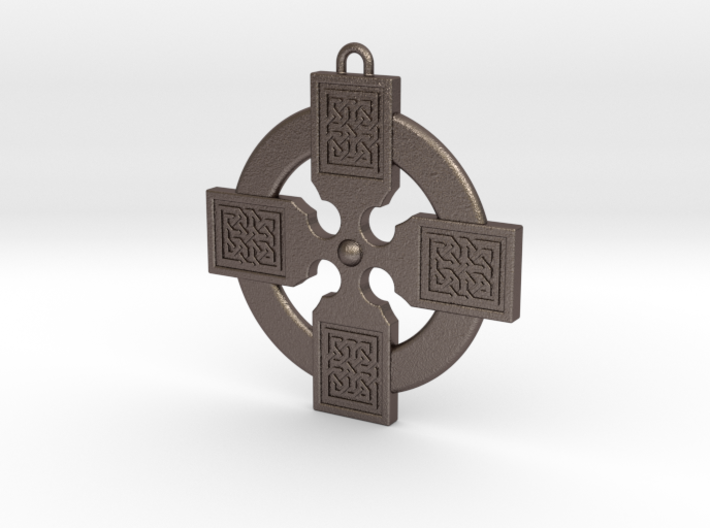 Celtic Cross 011 3d printed