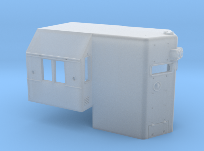 N Scale N&W SD45 High Hood  3d printed
