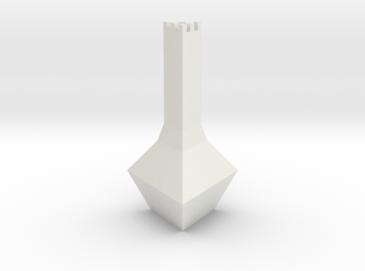 Chess Pawn Tower 3d printed