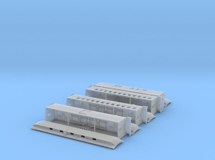 Nn3 4 car Passenger Train w/RPO 3d printed