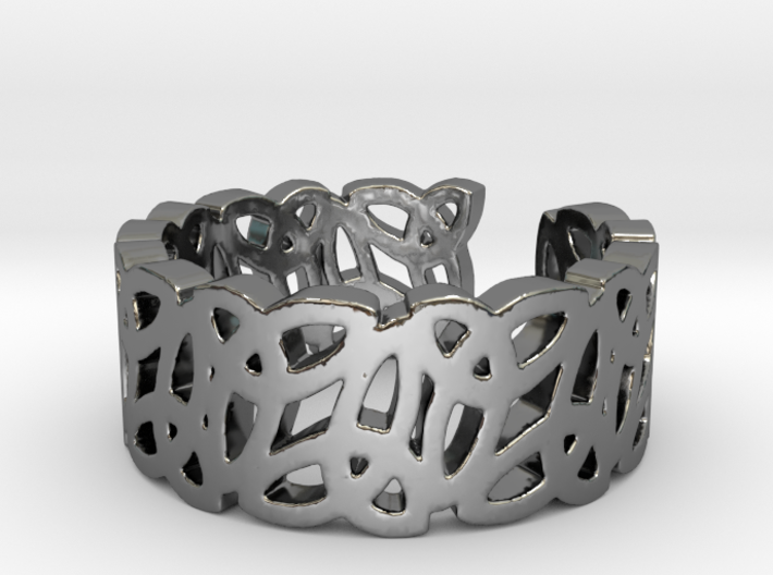 Open Celtic Knot Ring Ring Size 10 3d printed