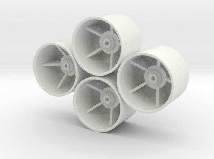 Losi Micro 1/24 Truggy Dish Wheels 3d printed
