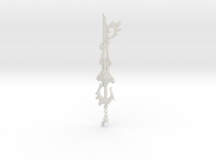 KH Keyblade Divewing Pendant 3d printed