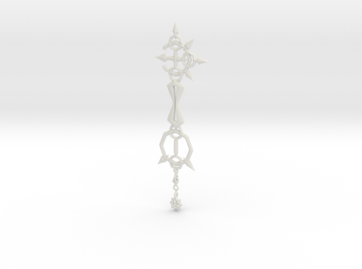 KH Keyblade Bonds Of Flame Pendant 3d printed