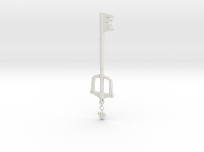 KH Keyblade Kingdom Key pendant 3d printed