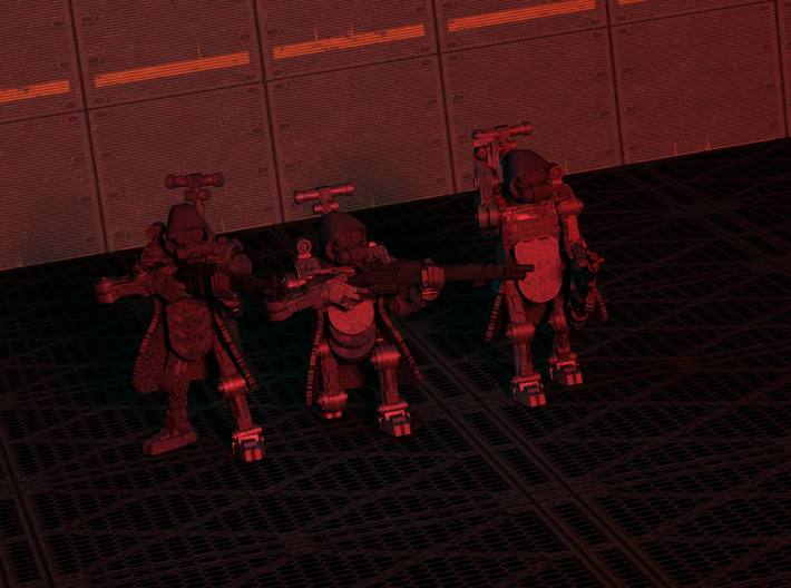 28mm Techno Cult Cyborgs (3) 3d printed