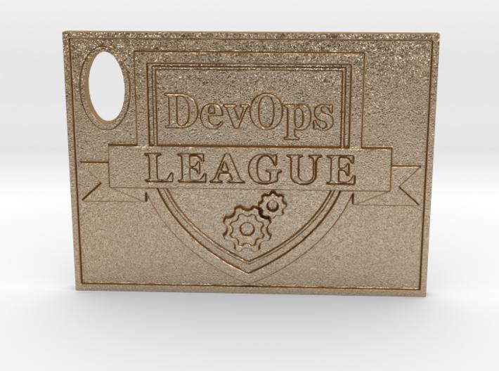 DevOps Thought Leadership Crest Certificate 3d printed