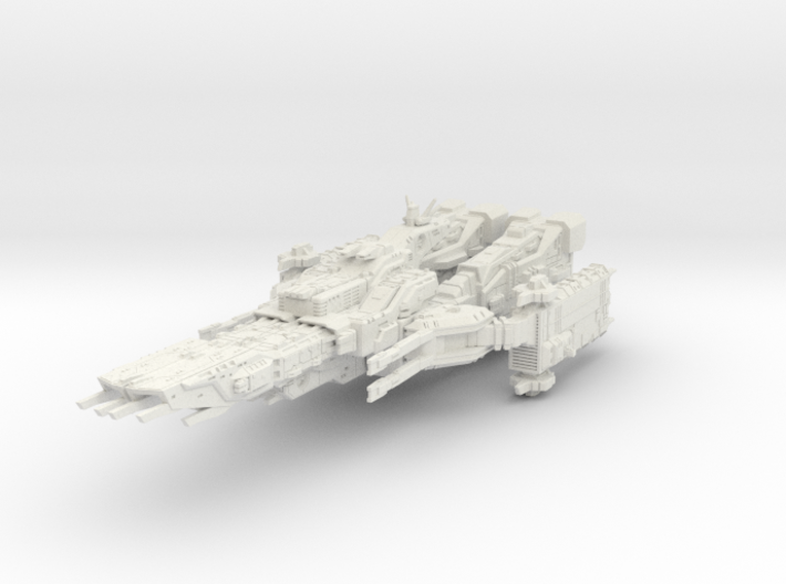super fortress solid 3d printed