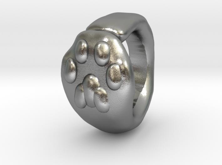 Cat Paw Ring - sc1 (19mm) 3d printed