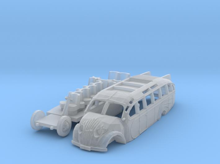 Opel Blitz Strassenzeppelin (N 1:160) 3d printed